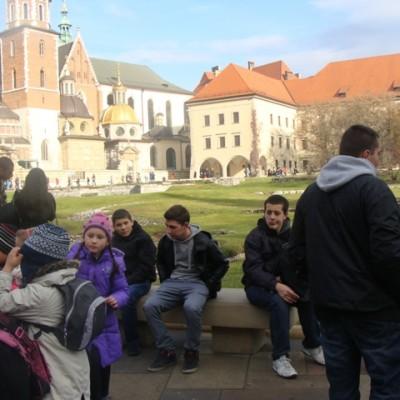 Wycieczka Kraków-Oświęcim 2013