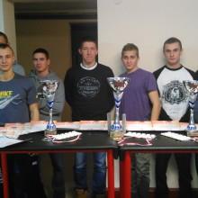 II Mistrzostwa RZSZ w Armwrestlingu – listopad 2015