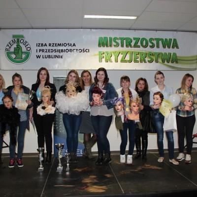 XIX Mistrzostwa Fryzjerstwa w Lublinie - luty 2016